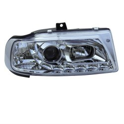 Paire de phares devil eyes Chrome Pour Seat Ibiza 1995-